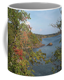 Lake Superior Autumn Coffee Mug