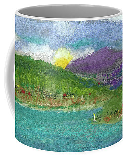 Coffee Mug featuring the photograph Lake View by David Patterson