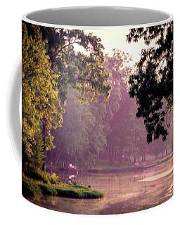 Coffee Mug featuring the photograph Lakeside Dawn by Barry Jones
