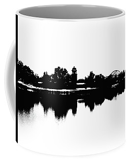 Lakeside Silhouette Coffee Mug