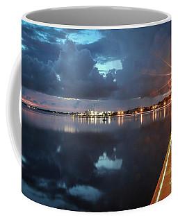 Lamp Post Starbursts Coffee Mug