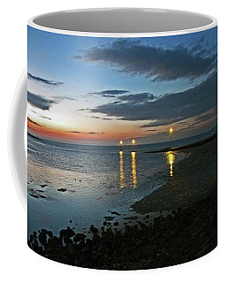 Lancashire. Knott End. Sunset.. Coffee Mug