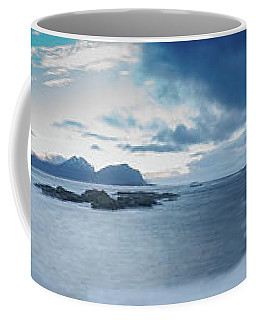 Landscape In The Lofoten Islands Coffee Mug