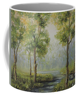 Landscape Of The Great Swamp Of New Jersey With Pond Coffee Mug