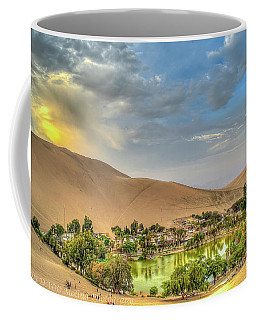 Large Oasis Coffee Mug
