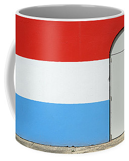 Coffee Mug featuring the photograph Las Croabas - Red White And Blue by Richard Reeve