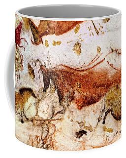 Lascaux Cow And Horses Coffee Mug