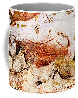 Lascaux Cows Horses And Deer Coffee Mug