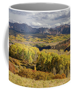 Coffee Mug featuring the photograph Last Dollar Road by James BO Insogna