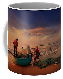 Last Haul For The Day Coffee Mug