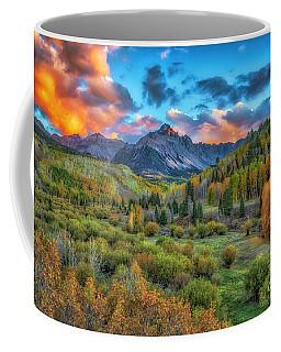 Last Light Mount Sneffels Coffee Mug