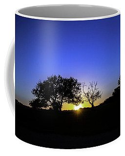 Last Light Texas Hill Country Paradise Canyon Sunset 8053a Coffee Mug