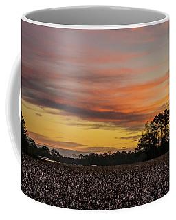 Late Fall In The Cotton Field Coffee Mug