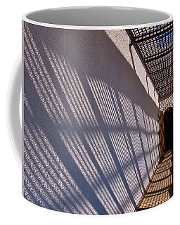 Lattice Shadows Coffee Mug