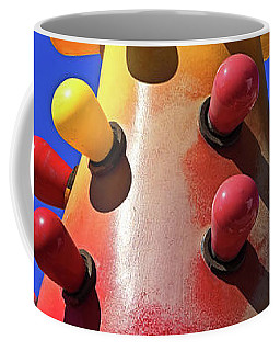 Coffee Mug featuring the photograph Lava Lamp by Skip Hunt
