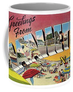 Lavallette Greetings Coffee Mug
