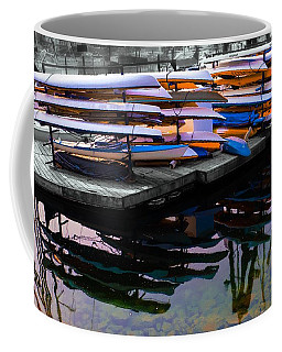 Layers And Layers By The Water Coffee Mug
