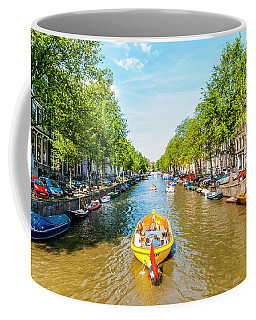 Lazy Sunday On The Canal Coffee Mug
