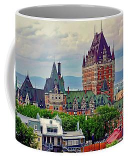 Le Chateau Frontenac Coffee Mug