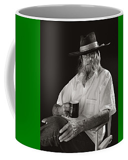 Coffee Mug featuring the photograph Le Poete by Ron Cline