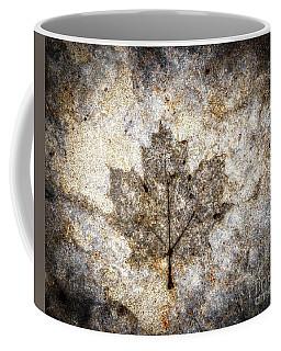 Leaf Imprint Coffee Mug
