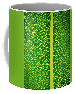 Leafy Detail Coffee Mug