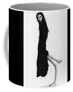Leaning Woman Ghost - Artwork Coffee Mug