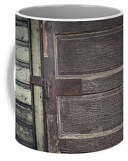 Leather Door Coffee Mug