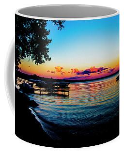 Coffee Mug featuring the photograph Leech Lake by Stuart Manning