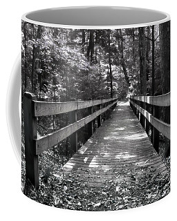 Coffee Mug featuring the photograph Leelanau Trail by SimplyCMB
