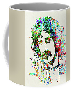 Legendary Frank Zappa Watercolor Coffee Mug
