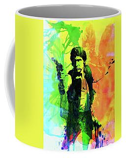 Legendary Han Solo Watercolor Coffee Mug
