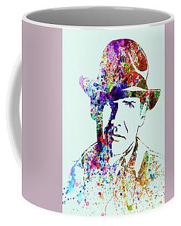 Legendary Indiana Jones Watercolor Coffee Mug