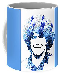 Legendary Maradona Watercolor Coffee Mug