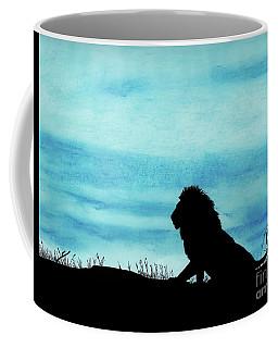Leo At Sunset Coffee Mug