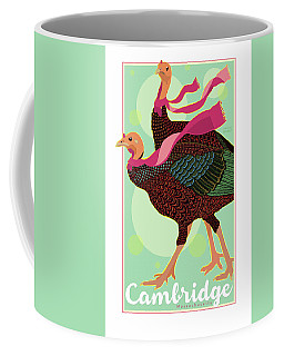 Les Foulards De Cambridge Coffee Mug