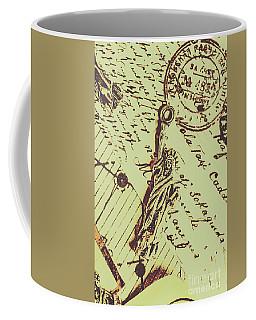 Letters Of Liberty Coffee Mug