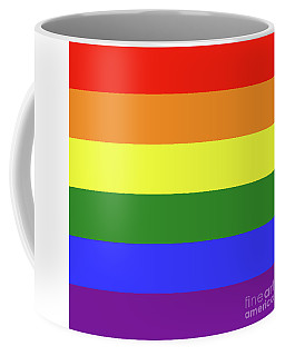 Lgbt 6 Color Rainbow Flag Coffee Mug