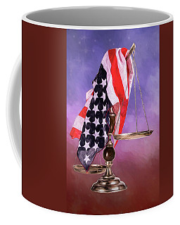 Liberty And Justice For All Coffee Mug