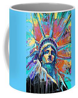 Liberty In Color Coffee Mug
