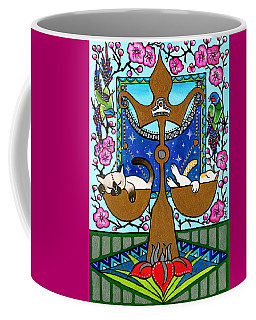 Libra Cat Zodiac Coffee Mug