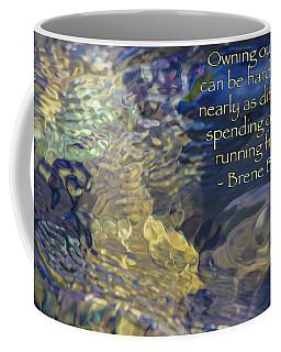 Life Stories - Motivational Water Art By Omaste Witkowski Coffee Mug