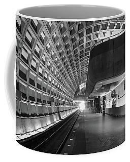 Coffee Mug featuring the photograph Light At The End Of The Tunnel by Lora J Wilson