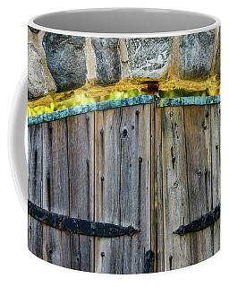 Coffee Mug featuring the photograph Light Beyond, Crane Estate by Michael Hubley