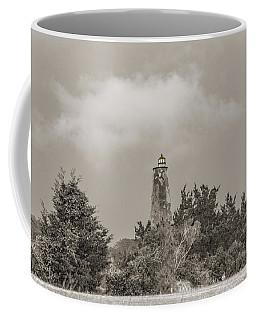 Light In The Distance Bald Head Island Lighthouse Coffee Mug