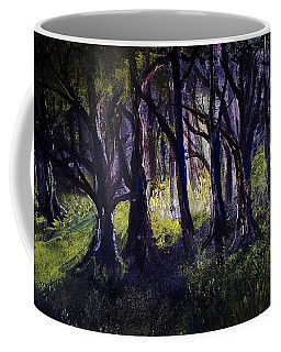 Light In The Forrest Coffee Mug