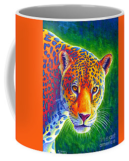 Light In The Rainforest - Jaguar Coffee Mug
