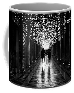 Light, Shadows And Symmetry Coffee Mug