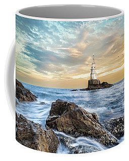 Lighthouse In Ahtopol, Bulgaria Coffee Mug