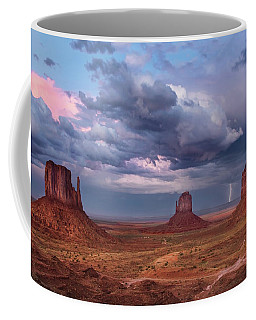 Lightning Across The Valley    Coffee Mug